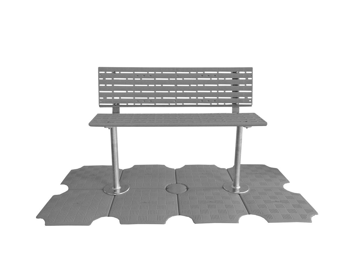 Bench Gray G2 Candock Ontario