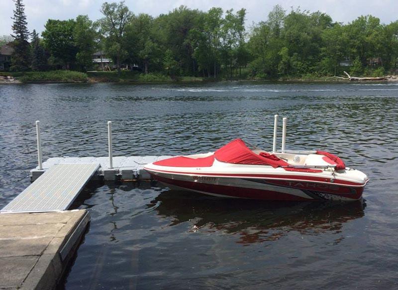 Floating docks - Modular Plastic Floating Dock | Candock Ontario
