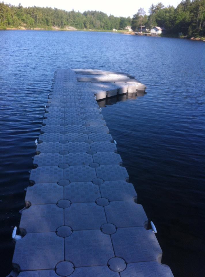 Candock Ontario Photo Gallery for Candock Floating Dock Systems